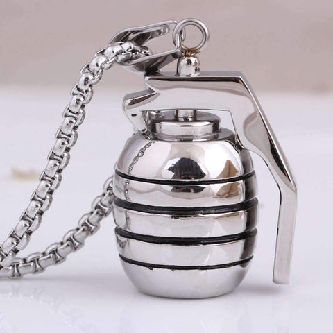 Image of Grenade Pendant Necklace