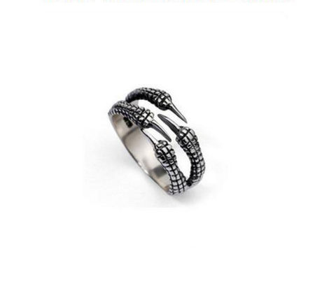 Image of Men's Dragon Claw Ring - [4 Variants]