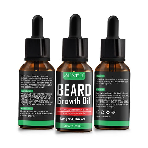Image of Natural Beard Growth Oil