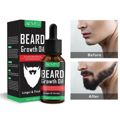 Image of beard growth products