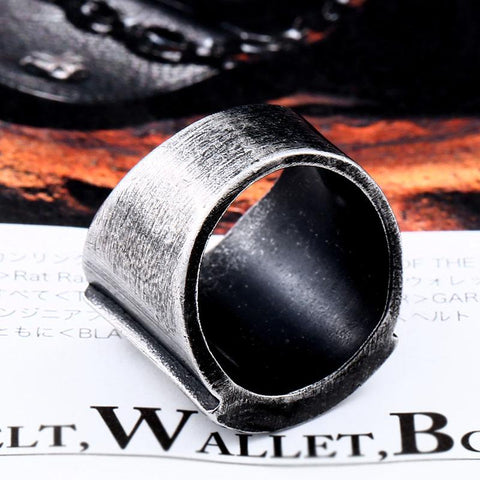 Image of Stainless Steel Men's Triangle Ring
