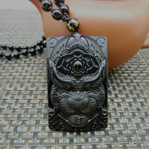 Image of Hand-Carved Tiger Necklace