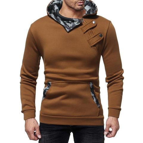 Image of Narciso Hoodie With  Camouflage Hood