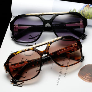 Vintage Mens Square Sunglasses Flat Top Sunglasses