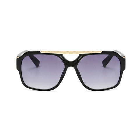 Image of Vintage Mens Square Sunglasses Flat Top Sunglasses
