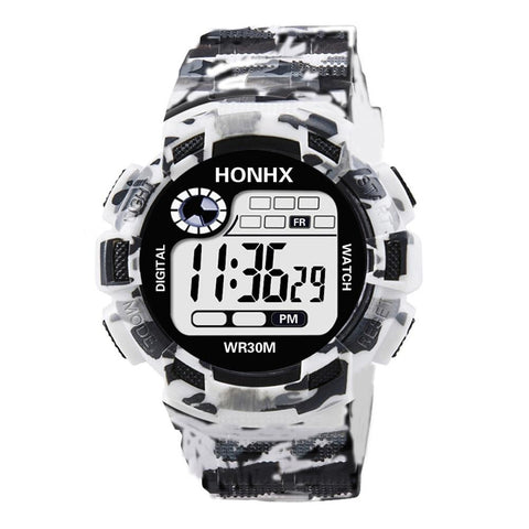 Image of White Camouflage Watch