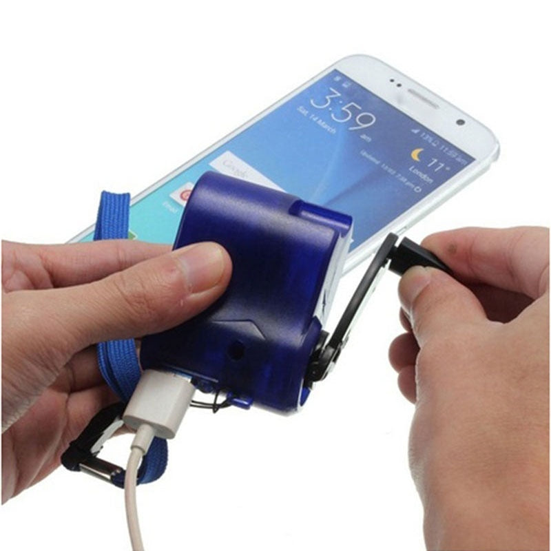 Emergency Hand Crank USB Phone Charger