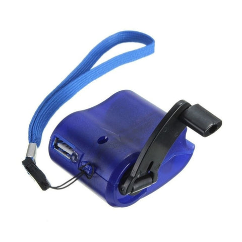 Image of Emergency Hand Crank USB Phone Charger