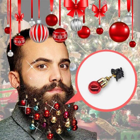 Image of Christmas Beard Baubles