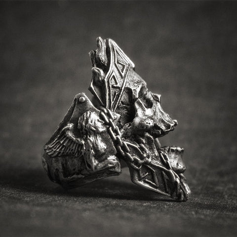 Image of Gods of War Skull Rings