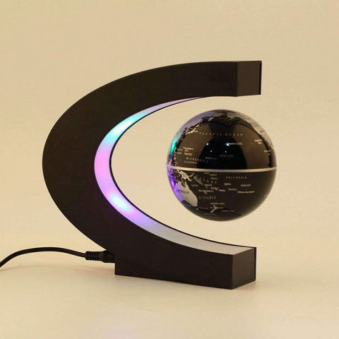 Image of Electronic Magnetic Anti-Gravity Floating Globe with Ambient Lights