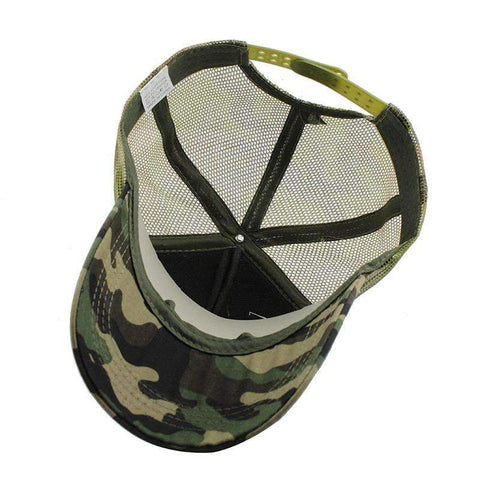 Camouflage Cap  With Star- [5 Variants]