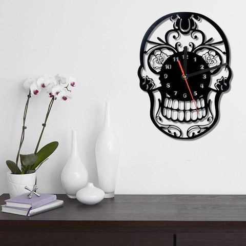 Sugar Skull  Wall Clock