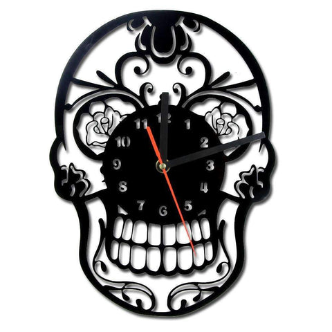 Image of Sugar Skull  Wall Clock