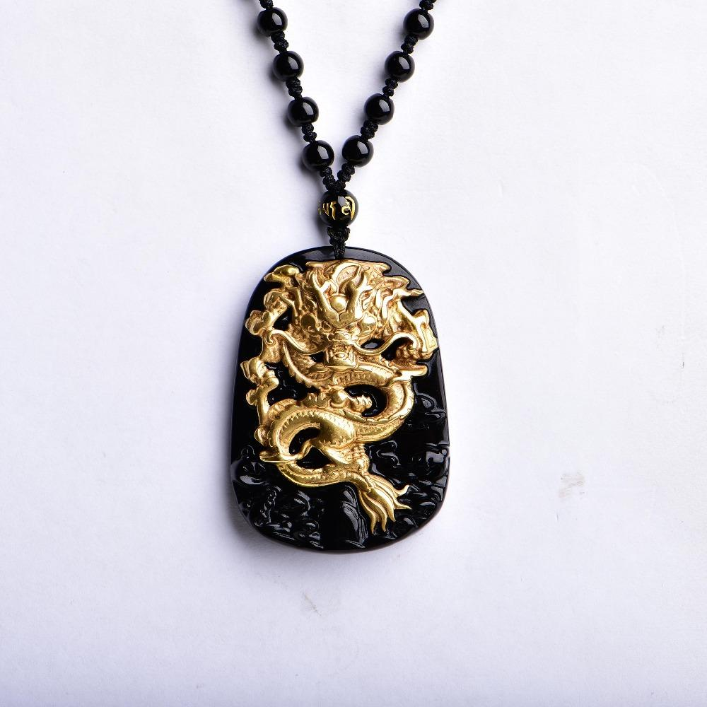 Stone Carving Pendant