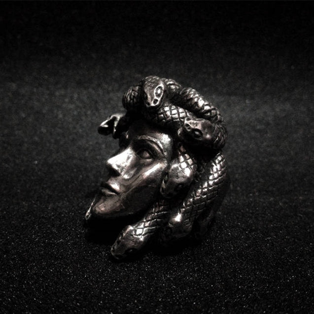 Snake Hair Medusa Ring 316L Stainless Steel Rings