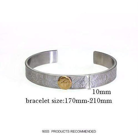 Image of Arabesque Eagle Cuff Bracelet
