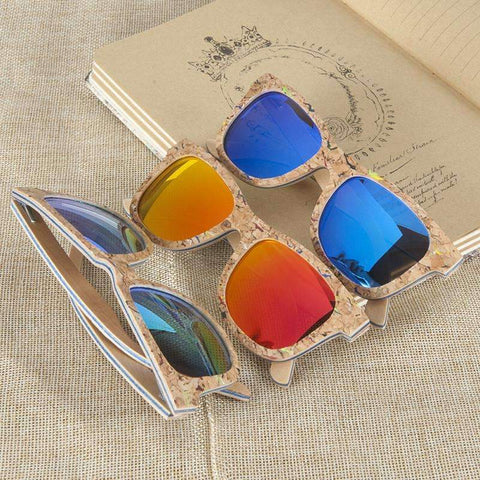 Image of Handmade Bamboo Wood Sunglasses With Gift Box