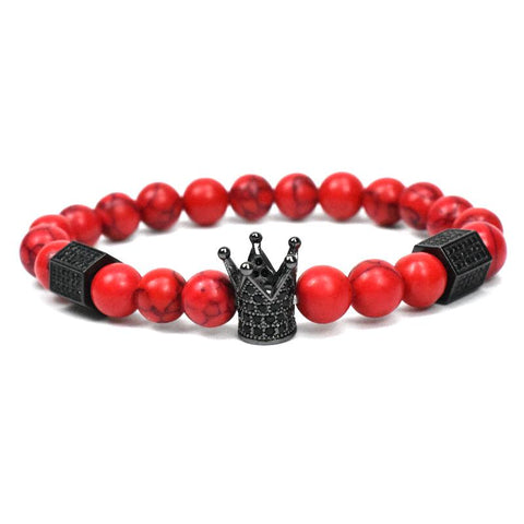 Image of Stacked King Crown Bracelet Sets