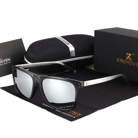 Image of Aluminum Frame & Mirror Lens Sunglasses