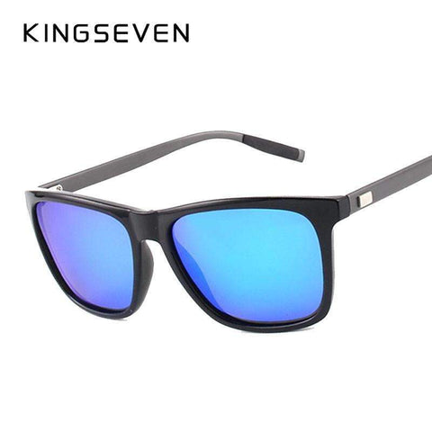 Image of Aluminum Frame & Mirror Lens Sunglasses [ 4 Variation ]