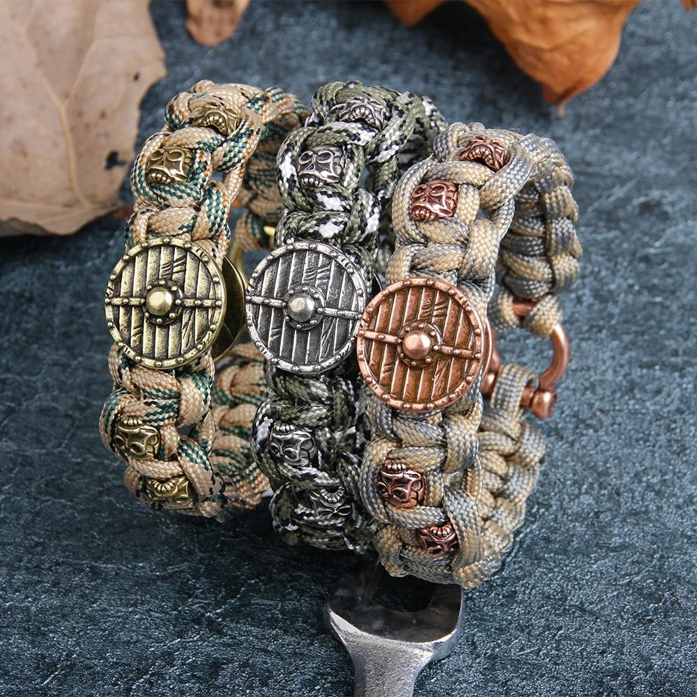 Viking Shield Paracord Bracelet
