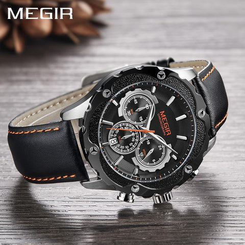 Image of Luxury Quartz Chronograph WristWatch