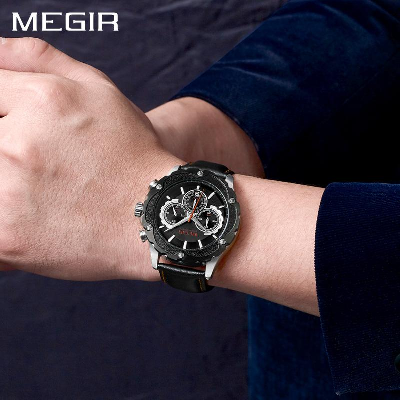 Luxury Quartz Chronograph WristWatch