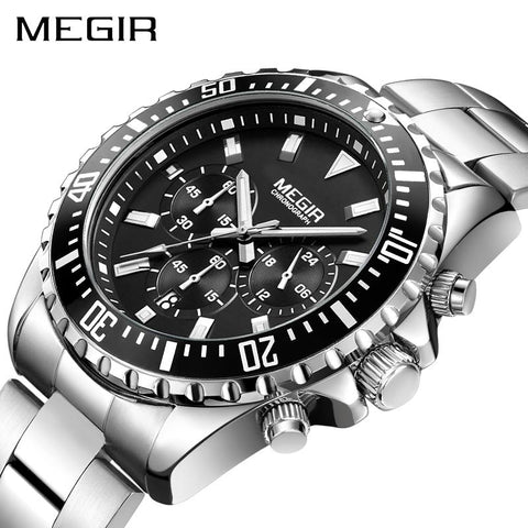 Image of Mens Luxury Chronograph Quartz Watch