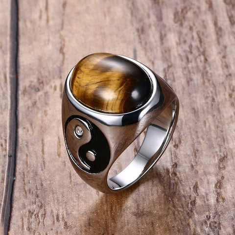 Image of tiger eye ring