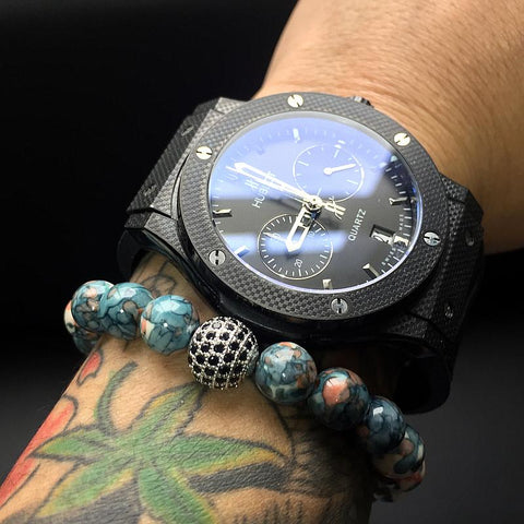 Image of Mens Disco Ball Bracelet