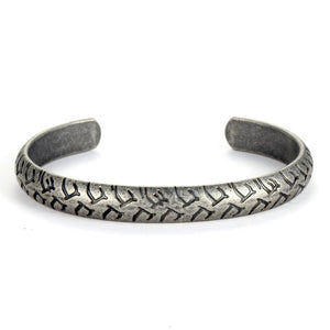 Retro Engraved Mens Bangle