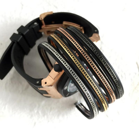 Mens Cuff Bracelet Set [ 6 Variation ]