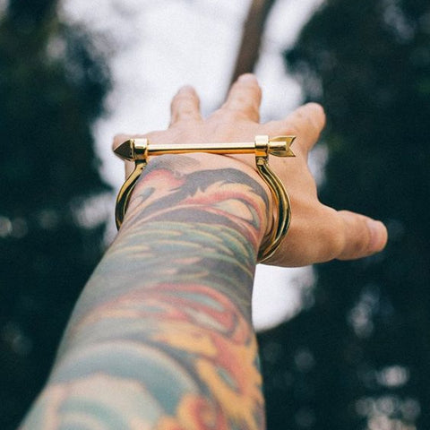 Image of Men's Arrow Cuff Bangles bracelet