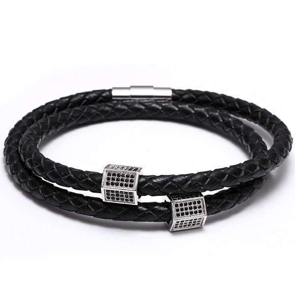 93f69c84b51 Mcllroy-CZ-Paved-Men-Women-Charms-Black-Genuine-Leather-Bracelets -Luxury-Punk-Wrist-Jewelry-Christmas-Gift.jpg_640x640_9ce127c5-c013-46cb-b08e-77374a9c39c5.  ...