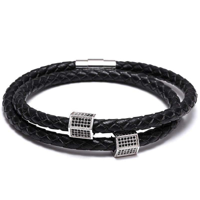 Multilayer Velvet Leather Bracelet [2 Variants]