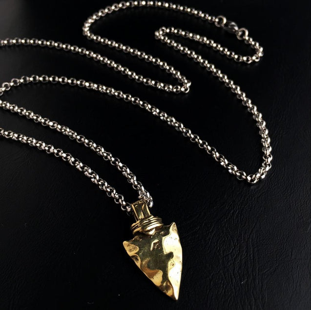 Arrowhead Necklace Pendant [ 2 variation ]