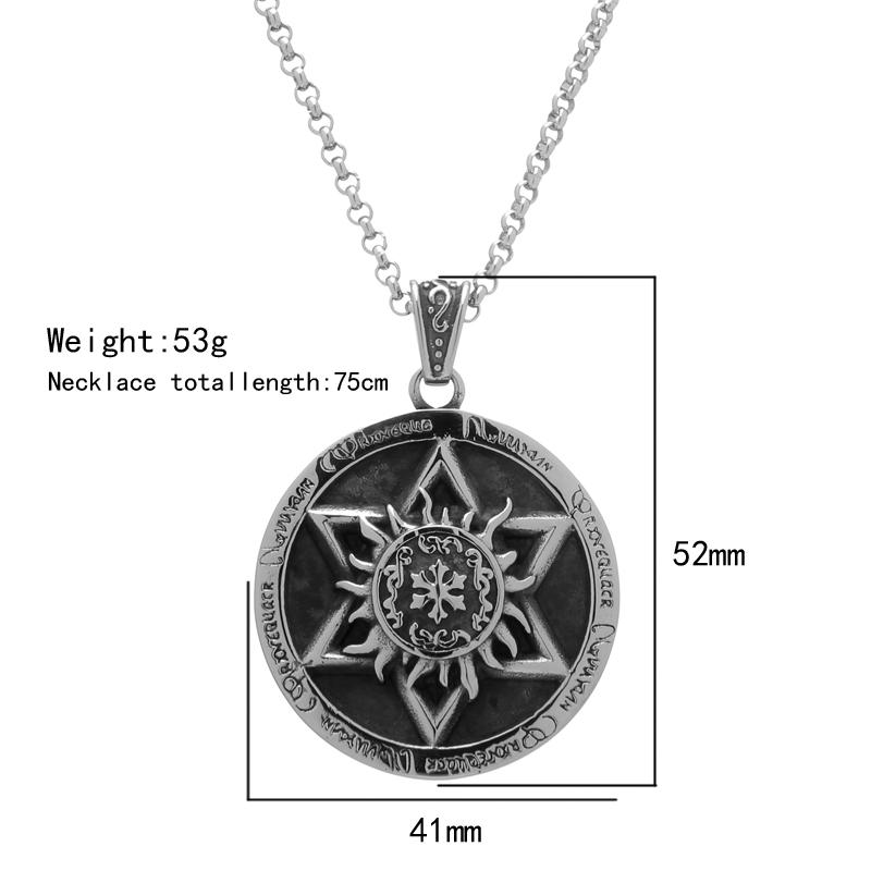 Evil force Pentagram Pendant