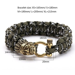 Indian Chief Paracord Bracelet