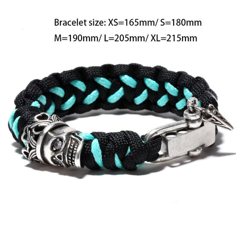 Image of Dead King Paracord Bracelet