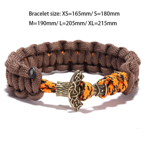 Image of Viking Anchor Paracord Bracelet
