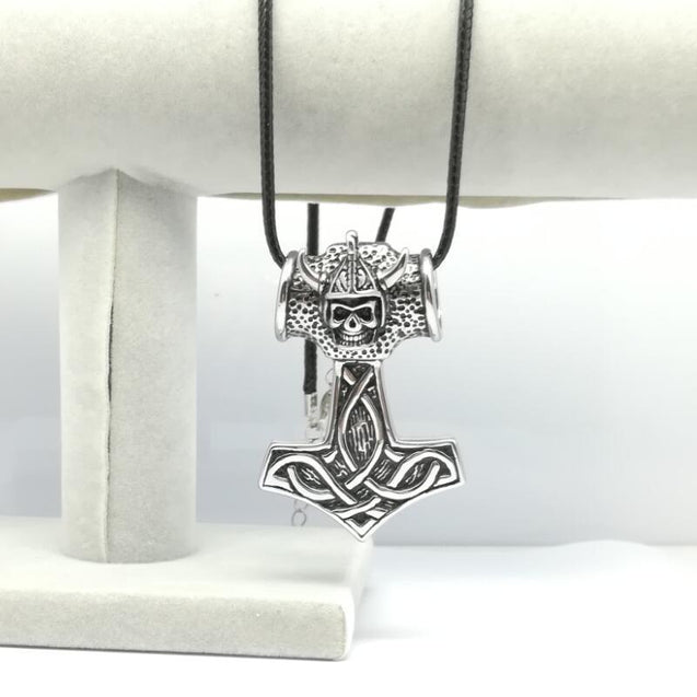 Men's Viking Skull Necklace