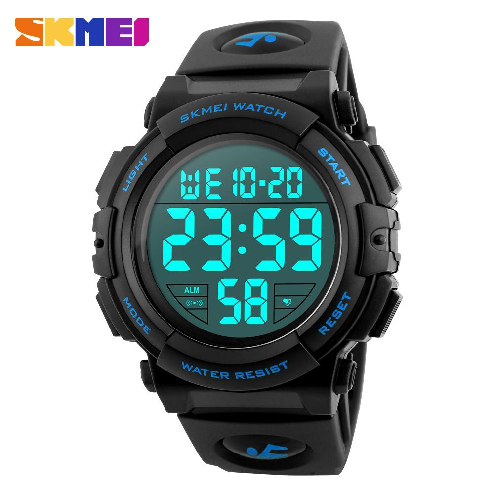 genuine with alarm konxido watch leather kx multifunctional sports function wrist and digital backlight el time waterproof watches mens analog brand products dual