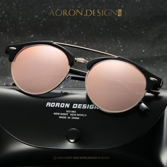 Polarized Sunglasses With Mirrored Lens