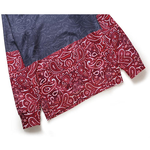 Image of Floral Stitching 3D printed men's hoodie