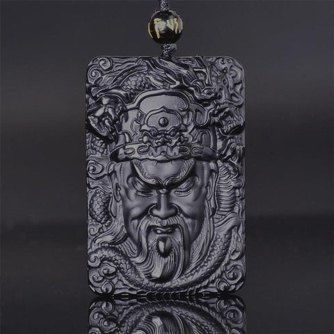 Image of Guan Yu Dragon Necklace