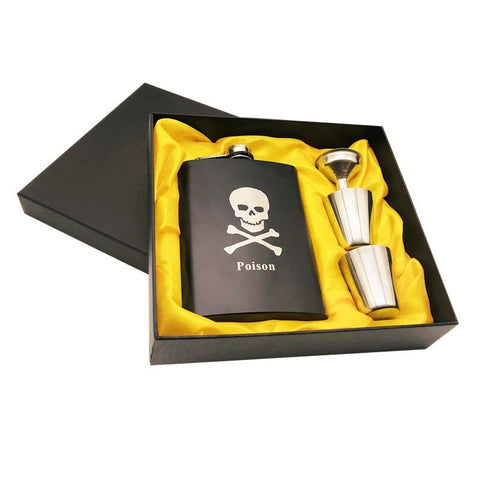Image of Skull Alcohol Hip Flask
