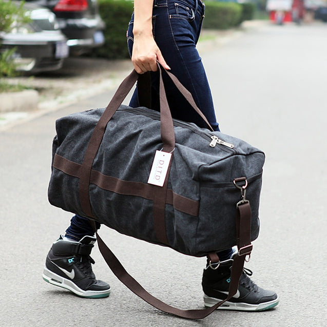 New Canvas Large Capacity Duffle bag