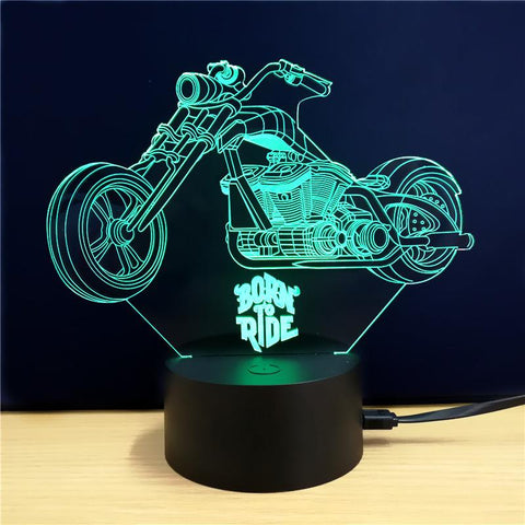3D LED Motorcycle Lamp