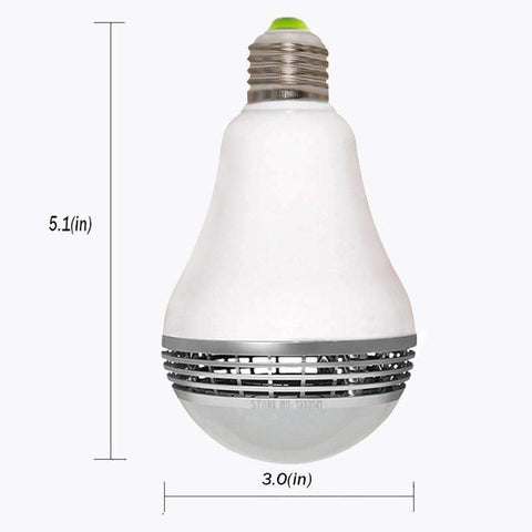 Image of Wireless Bluetooth Speaker Light Bulb Speaker
